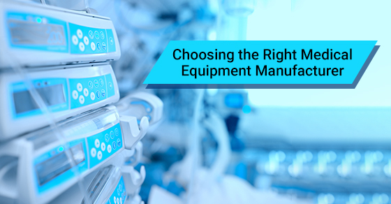 Medical equipment manufacturer