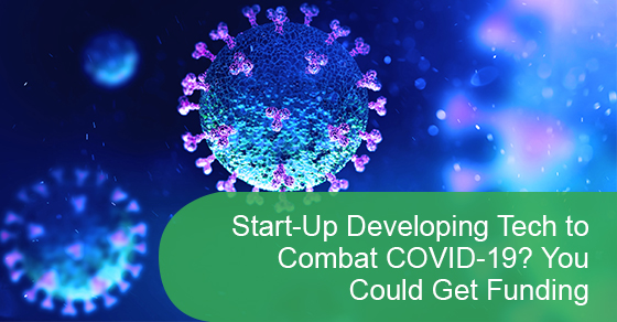 Information on Start-Up Developing Tech to combat COVID-19