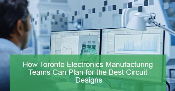 Plans for best circuit designs