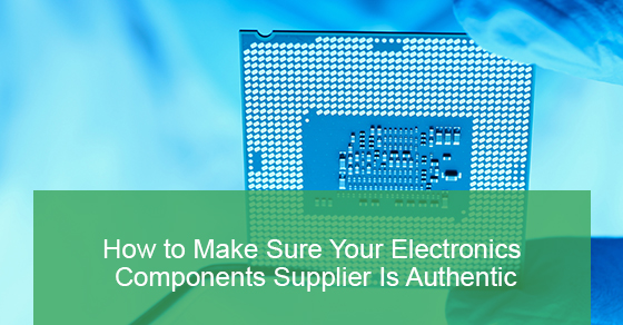 Electronic Components and Their Authentication